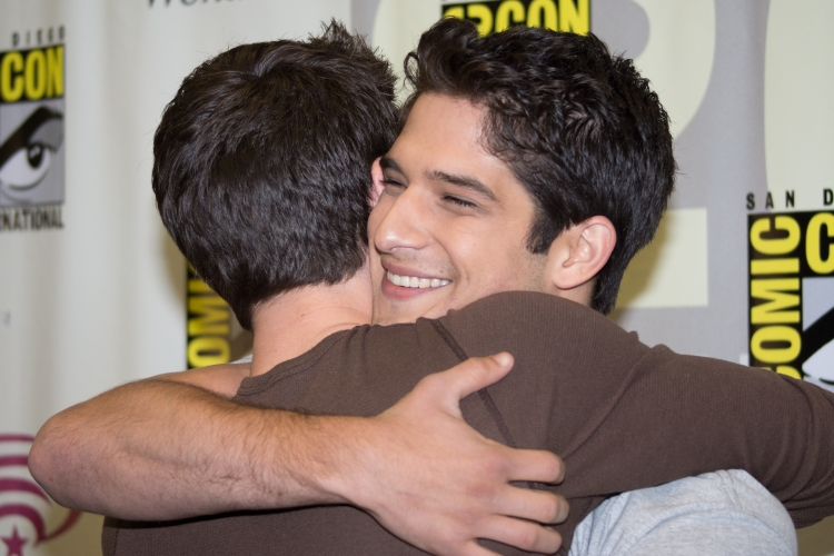 Dylan O'Brien and Tyler Posey (photo credit: Courtney Vaudreuil)