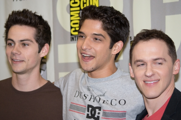 Dylan O'Brien, Tyler Posey, Jeff Davis (photo credit: Courtney Vaudreuil)