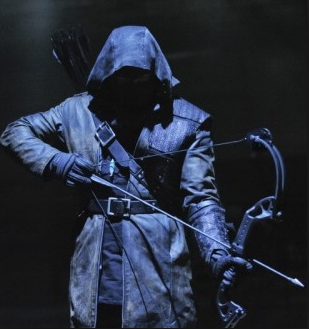 "The Dark Archer in ""Arrow"""