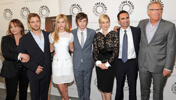 "Cast of ""Bates Motel"" (photo credit: Kevin Parry Photography)"