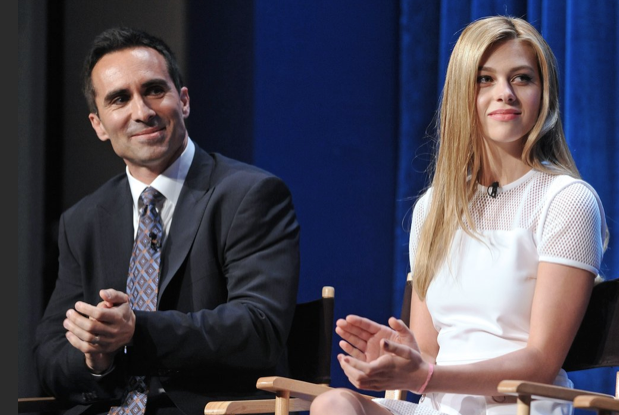 Nestor Carbonell and Nicola Peltz (photo credit: Kevin Parry Photography)