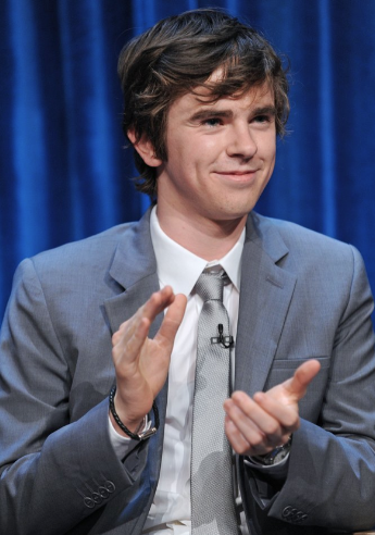 Freddie Highmore (photo credit: Kevin Parry Photography)