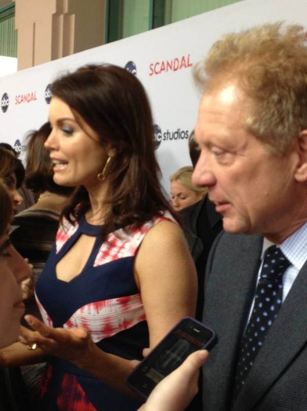 Bellamy Young and Jeff Perry  (photo credit: Tiffany Vogt)