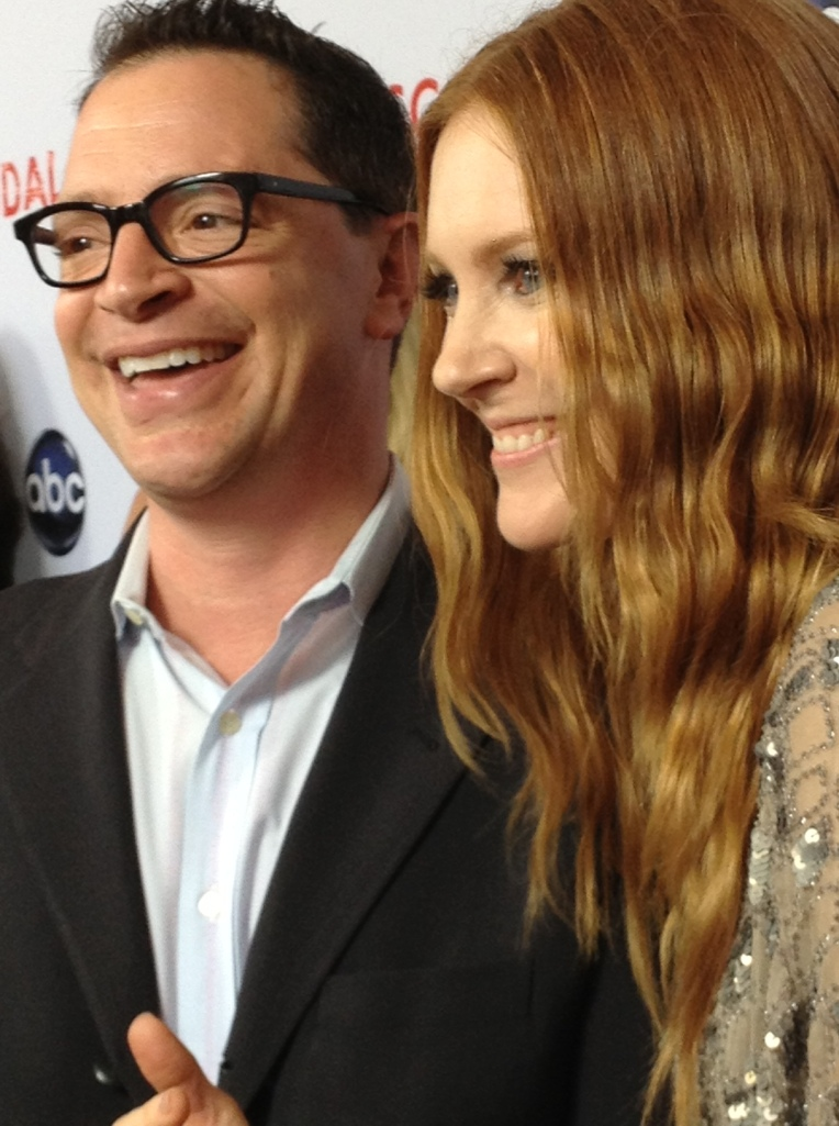 Josh Malina and Darby Stanchfield  (photo credit: Tiffany Vogt)
