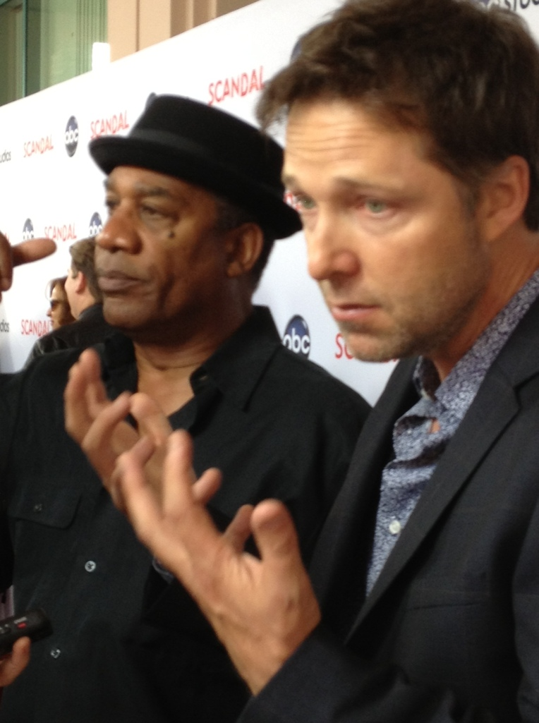 Joe Morton and George Newbern  (photo credit: Tiffany Vogt)
