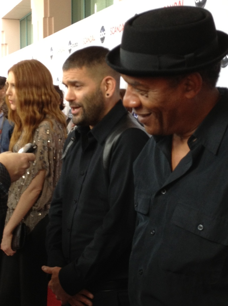 Darby Stanchfield, Guillermo Diaz and Joe Morton  (photo credit: Tiffany Vogt)