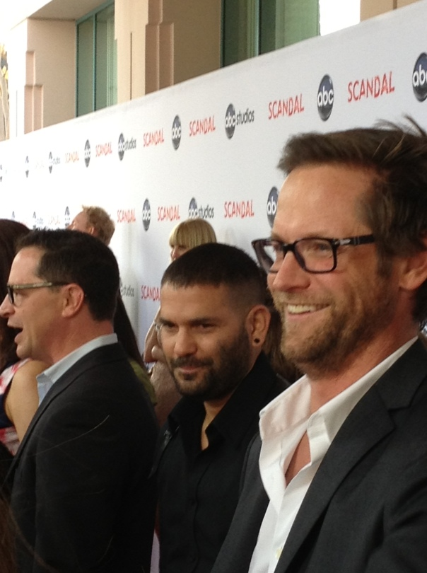 Josh Malina, Guillermo Diaz and Matt Letscher  (photo credit: Tiffany Vogt)