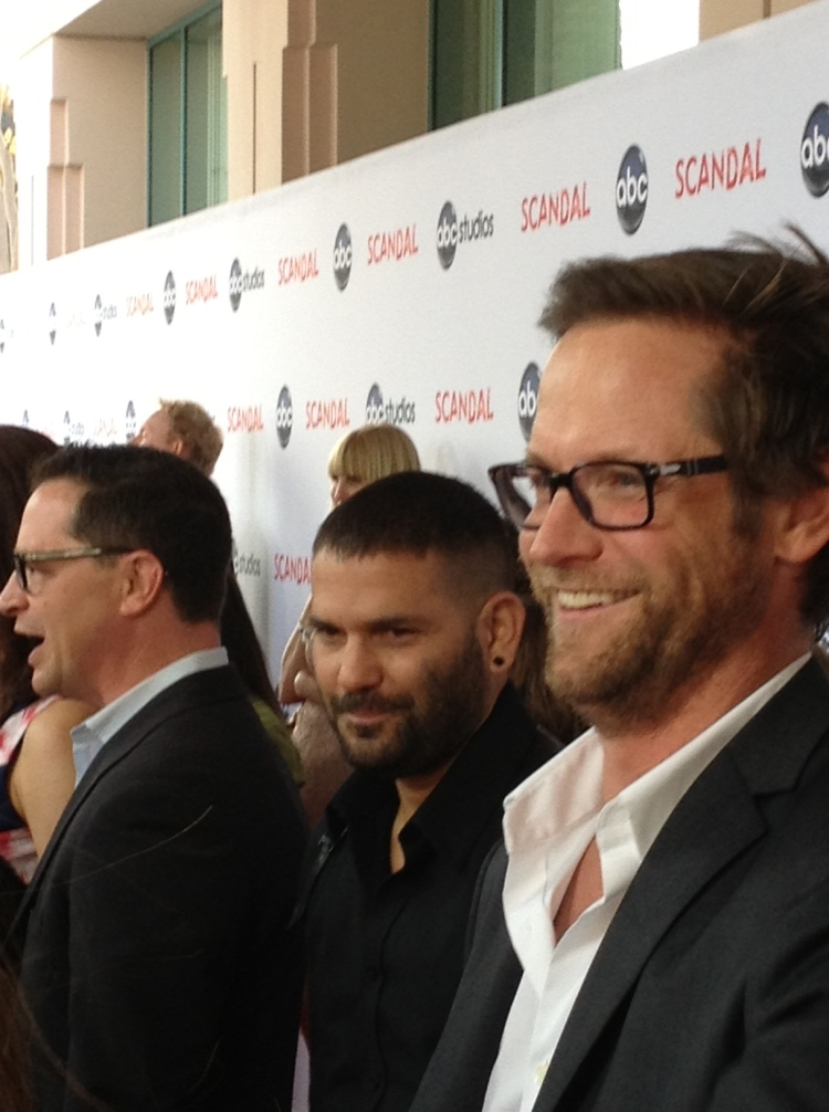Josh Malina, Guillermo Diaz and Matt Letscher  (photo credit: Tiffany Vogt)