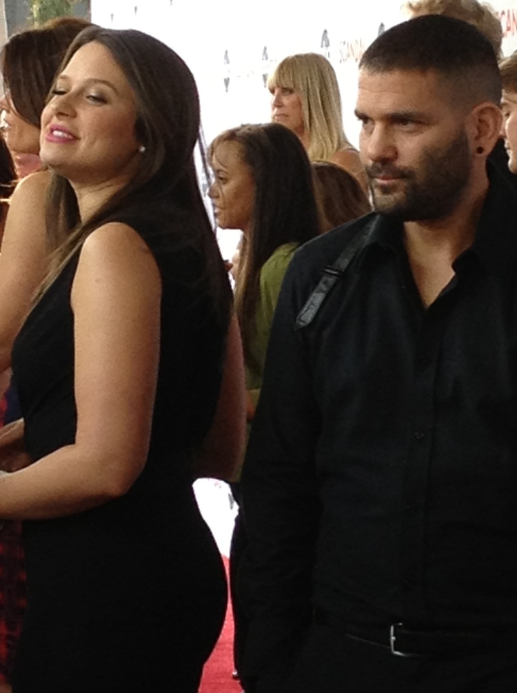 Katie Lowes and Guillermo Diaz (photo credit: Tiffany Vogt)
