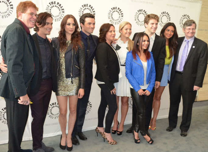 "Cast of ""Pretty Little Liars"" (photo credit: Genevieve Collins)"