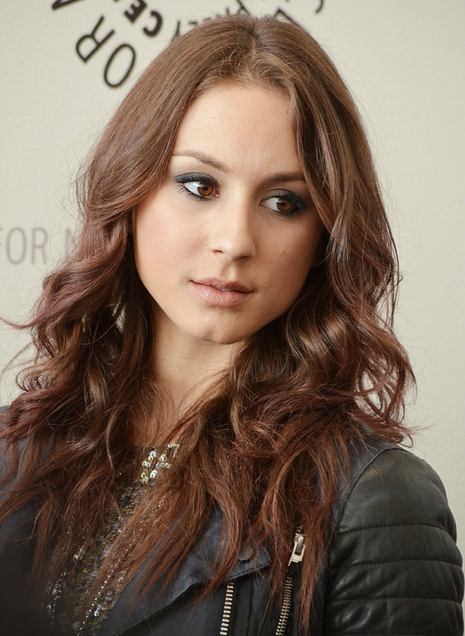 Troian Bellisario (photo credit: Genevieve Collins)