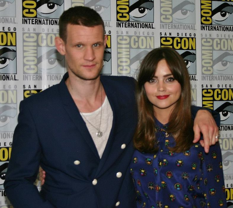 Matt Smith and Jenna Coleman (photo credit: Jennifer Schadel)