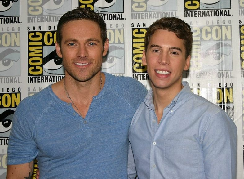 Dylan Bruce and Jordan Gavaris (photo credit: Jennifer Schadel)