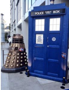 Dalek and TARDIS