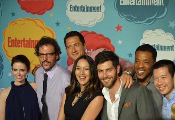 "Cast of ""Grimm"" (photo credit: Genevieve Collins)"