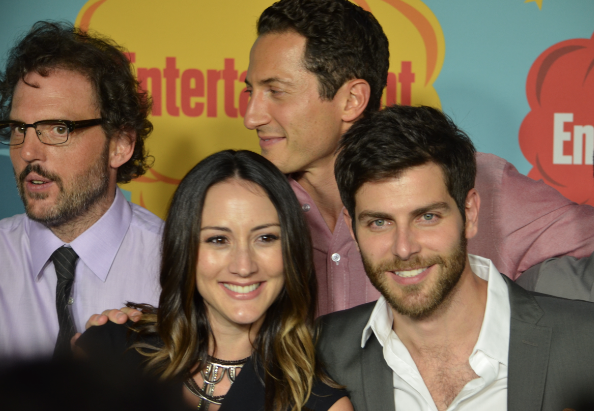Silas Weir Mitchell, Sasha Roiz, Bree Turner, David Giuntoli  (photo credit: Genevieve Collins)