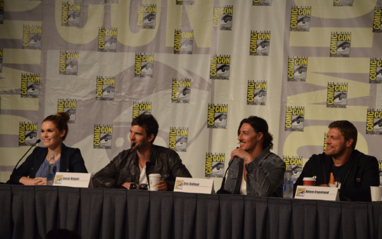 """Haven"" panel  (photo credit: Genevieve Collins)"