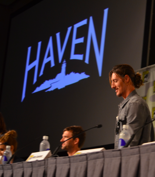 """Haven"" panel  (photo credit: Genevieve Collins)"