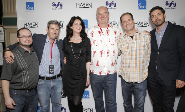 "Executive producers of ""Haven"" (Photo credit: Todd Williamson/Invision provided courtesy of eOne)"