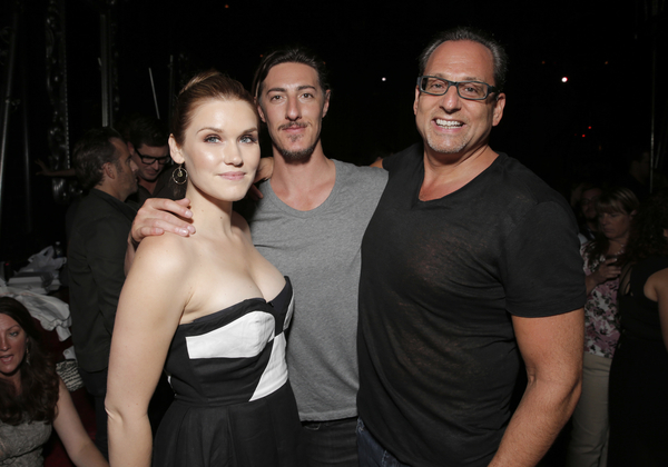 Eric Balfour, Emily Rose, John Morayniss (Photo credit: Todd Williamson/Invision provided courtesy of eOne)