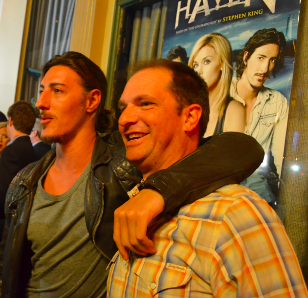 Eric Balfour and Sam Ernst (photo credit: Genevieve Collins)
