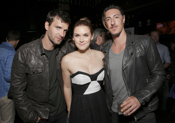 Lucas Bryant, Emily Rose and Eric Balfour (Photo credit: Todd Williamson/Invision provided courtesy of eOne)