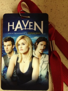 """Haven"" VIP pass (photo credit: Tiffany Vogt)"
