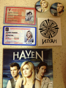 """Haven"" goodies! (photo credit: Tiffany Vogt)"