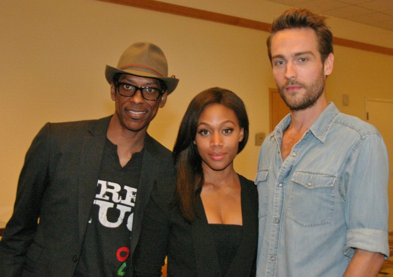 Orlando Jones, Nicole Beharie, Tom Mison (photo credit: Jennifer Schadel)