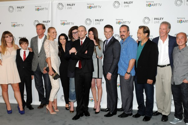 """Dexter"" at Paley Center (photo credit: Kevin Parry)"