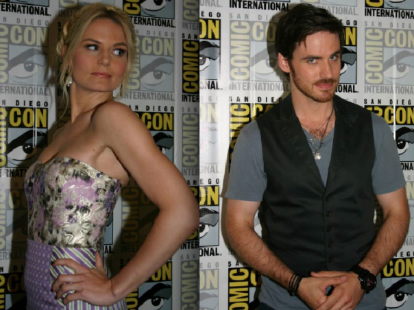 Jennifer Morrison and Colin O'Donoghue (photo credit: Jennifer Schadel)