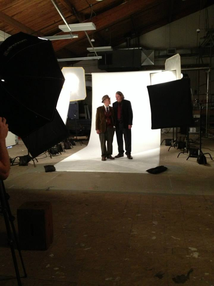John and Richard during photoshoot (photo credit: Tiffany Vogt)