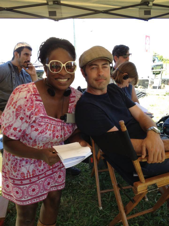 Shernold Edwards and executive producer Shawn Piller (photo credit: Tiffany Vogt)