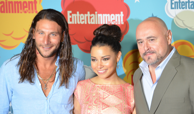 Zach McGowan, Jessica Parker Kennedy, Mark Ryan (photo credit: Genevieve Collins)