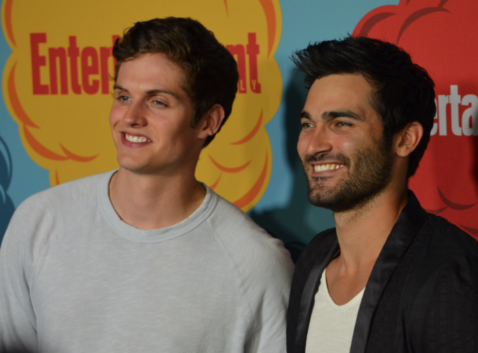 Daniel Sharman and Tyler Hoechlin (photo credit: Genevieve Collins)