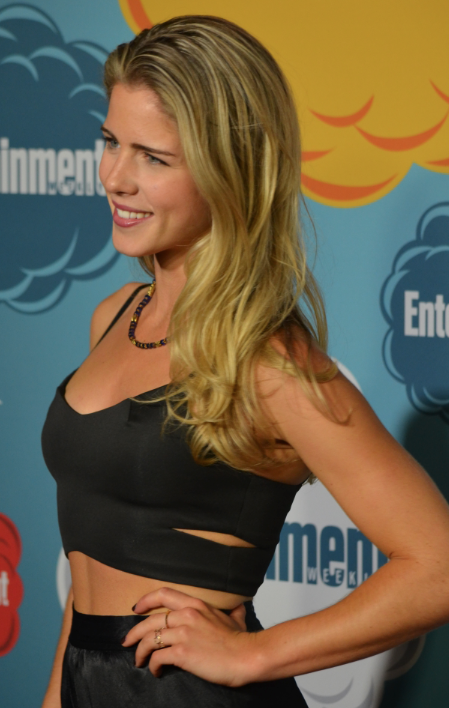 Emily Bett Rickards  (photo credit: Genevieve Collins)