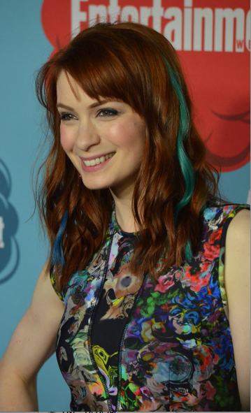 Felicia Day (photo credit: Genevieve Collins)