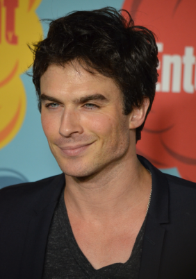 Ian Somerhalder  (photo credit: Genevieve Collins)