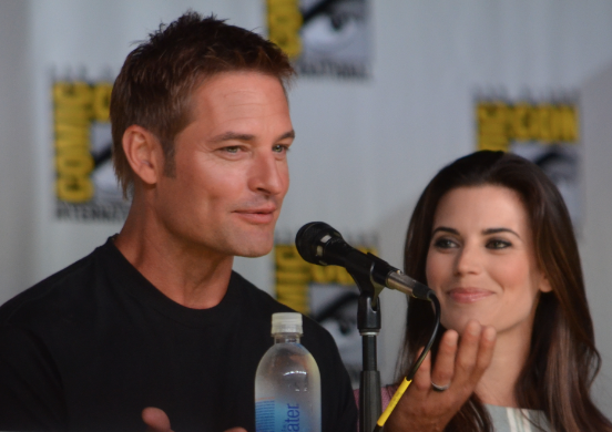 Josh Holloway and Meghan Ory  (photo credit: Genevieve Collins)
