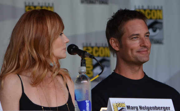 Marg Helgenberger and Josh Holloway (photo credit: Genevieve Collins)