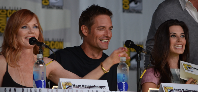 Marg Helgenberger, Josh Holloway, Meghan Ory (photo credit: Genevieve Collins)