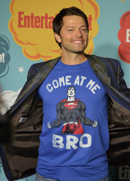 Misha Collins (photo credit: Genevieve Collins)