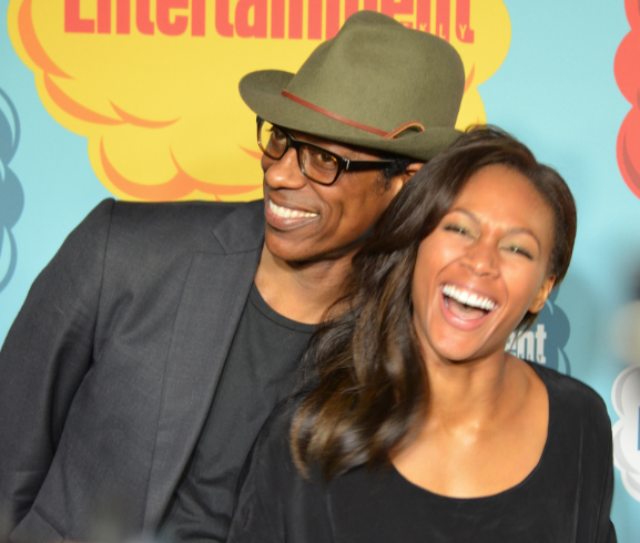 Orlando Jones and Nichole Beharie (photo credit: Genevieve Collins)
