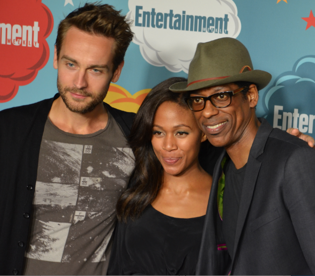 Tom Mison, Nicole Beharie, Orlando Jones (photo credit: Genevieve Collins)
