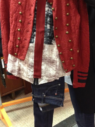 """Star-Crossed"" wardrobe (photo credit: Tiffany Vogt)"