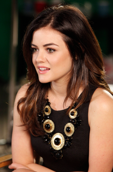 Lucy Hale (photo credit: Chris Frawley/Warner Bros. Entertainment Inc.)