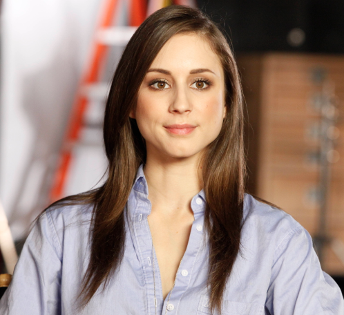 Troian Bellisario (photo credit: Chris Frawley/Warner Bros. Entertainment Inc.)