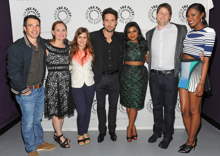 """""""The Mindy Project"""" cast © Kevin Parry for Paley Center for Media"""
