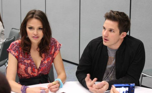 Aimee Teegarden and Matt Lanter (photo credit: Jennifer Schadel)