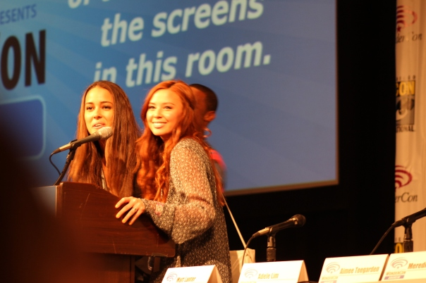 Chelsea Gilligan and Malese Jow  (photo credit: Jennifer Schadel)